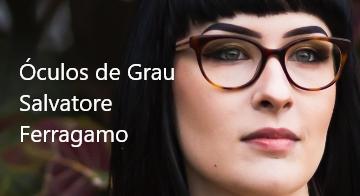 Óculos de grau Salvatore Ferragamo