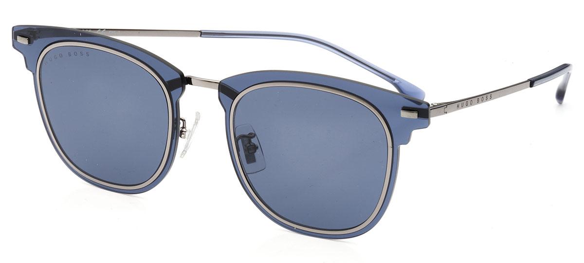 azul / cinza