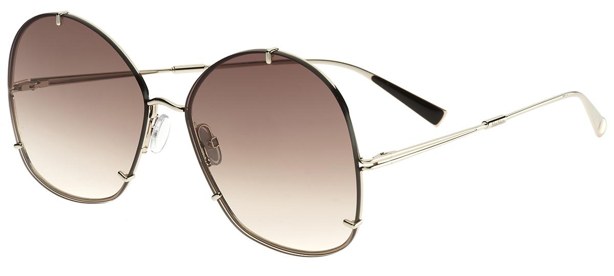 a4b8d0a4c30e0 dourado dourado · preto preto · Óculos de Sol MaxMara Hooks ...
