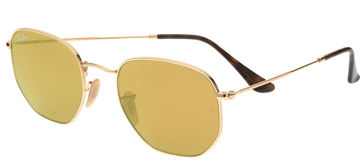 dourado   espelhado dourado   espelhado · preto preto · Óculos de Sol Ray  Ban Hexagonal 3548-NL 001 Z2 ... 71c4772662
