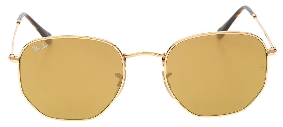 16056fdc61f2d Óculos de Sol Ray Ban Hexagonal Metal 3548-N 001 93   Ótica Mori