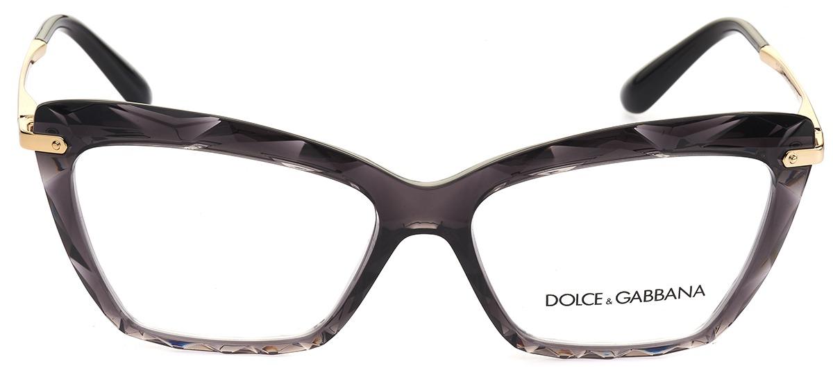 00d3307810f71 Óculos Receituário Dolce   Gabbana Faced Stones 5025 504   Ótica Mori