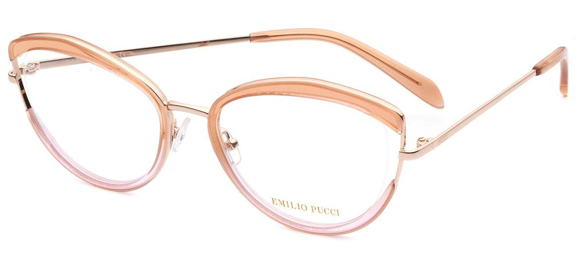 marrom claro / rosa / dourado