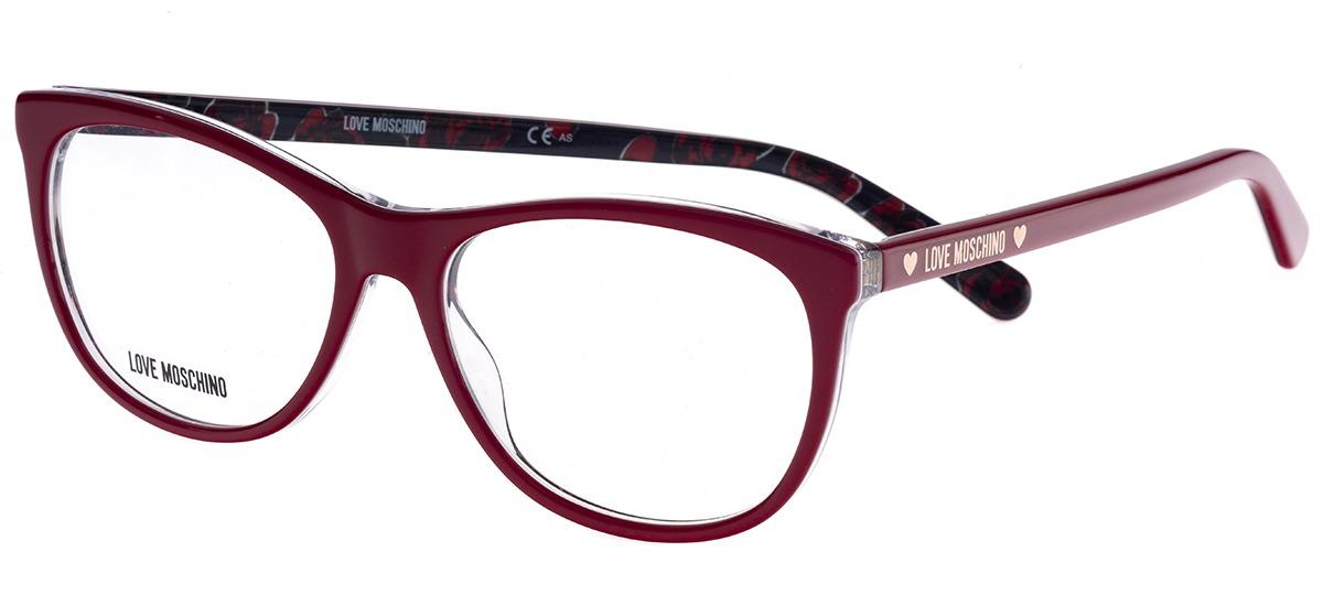18d651c217283 vermelho vermelho. Óculos Receituário Love Moschino ...