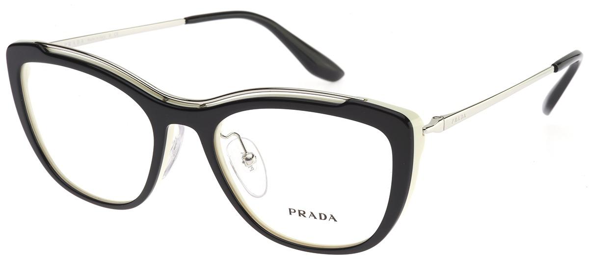 Óculos Receituário Prada Full Metal Temple Evolution 04VV 4BK-1O1