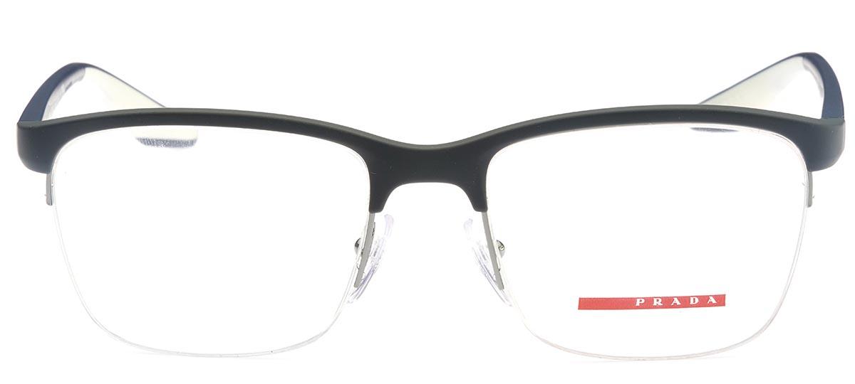 4014222ef preto. Thumb Óculos Receituário Prada Linea Rossa Core Collection 02LV  TFZ-1O1 ...
