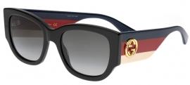 bb5fa809a Óculos de Sol Estilo do Óculos Quadrado Tamanho 49,53 > Ótica Mori