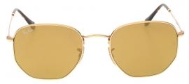 Óculos de Sol Ray Ban Hexagonal Metal 3548-N 001/93