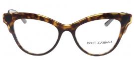 Óculos Receituário Dolce & Gabbana Double Line 3313 502