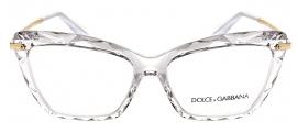 Óculos Receituário Dolce & Gabbana Faced Stones 5025 3133