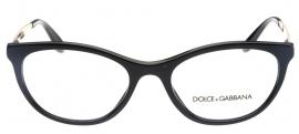 Óculos Receituário Dolce & Gabbana Gros Grain 3310 501