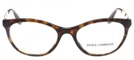 Óculos Receituário Dolce & Gabbana Gros Grain 3310 502