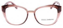 Óculos Receituário Dolce & Gabbana Stones & Logo Plaque 5041 3148