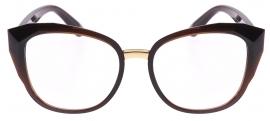Óculos Receituário Dolce & Gabbana Stones & Logo Plaque 5041 3159