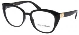 2f9c34b5c1258 Óculos Receituário Dolce   Gabbana Stones   Logo Plaque 5041 501
