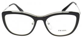 Óculos Receituário Prada Full Metal Temple Evolution 04VV 4BK-1O1 60ffce6dcb