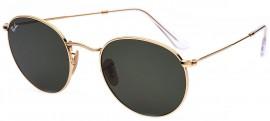 e38c45b5d Óculos de Sol Ray Ban Round Metal 3447-N 001