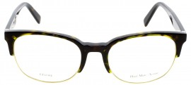 Óculos Receituário Céline Thin Squared Bimetal 41347 z06