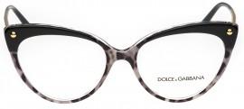 a5ee0d405e9f1 Óculos Receituário Dolce   Gabbana Lucia 3291 3174