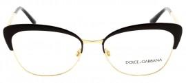 c50bf3a43d618 Óculos Receituário Dolce   Gabbana Ortensia 1298 1315