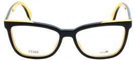 Óculos Receituário Fendi Color Flash 0122 mfr