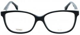 Óculos Receituário Fendi Cube 0232 807