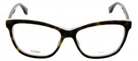 Óculos Receituário Fendi Roma 0251 086