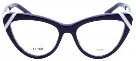 Óculos Receituário Fendi Waves 0245 B3V