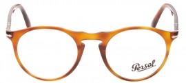 Óculos Receituário Persol 649 Evolution 3201-V 96 Terra Di Siena