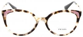 Prada Estilo do Óculos Gatinho Material da armação Metal   Ótica Mori beed25e600