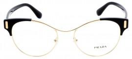 Óculos Receituário Prada Mod Evolution 61tv 1ab-1o1