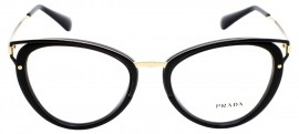 Óculos Receituário Prada Wanderer Evolution 53UV 1AB-1O1