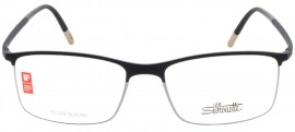 Óculos Receituário Silhouette Urban Fusion Fullrim 2904 60 6051