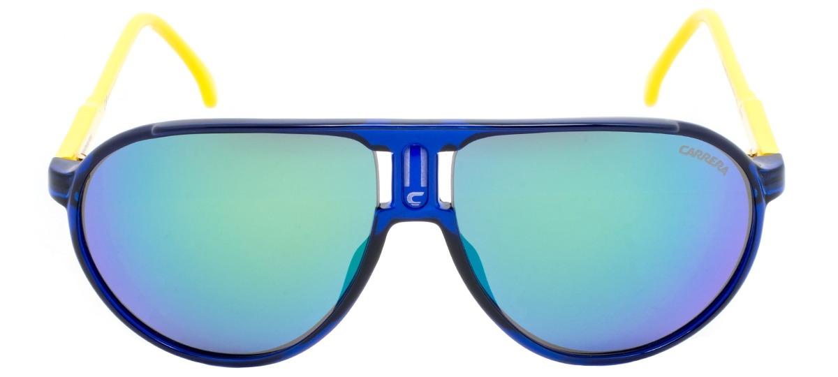 397aaa0e6b361 azul   amarelo   verde. Óculos de Sol Carrera Champion - Special Edition  cflz29 ...