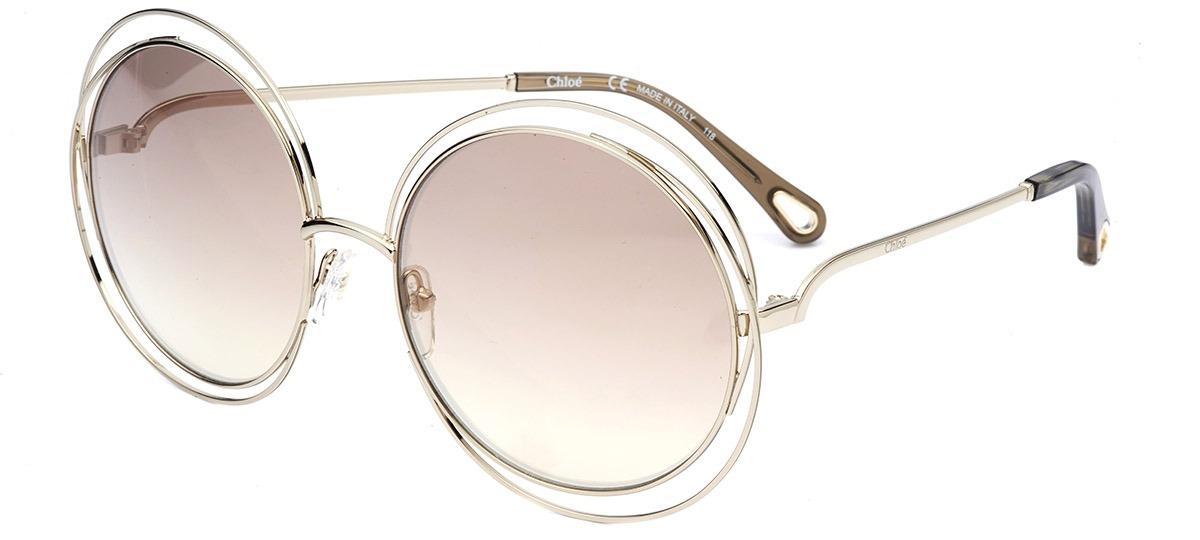 36a0ecac719af Óculos de Sol Chloé Carlina 114SD 777   Ótica Mori