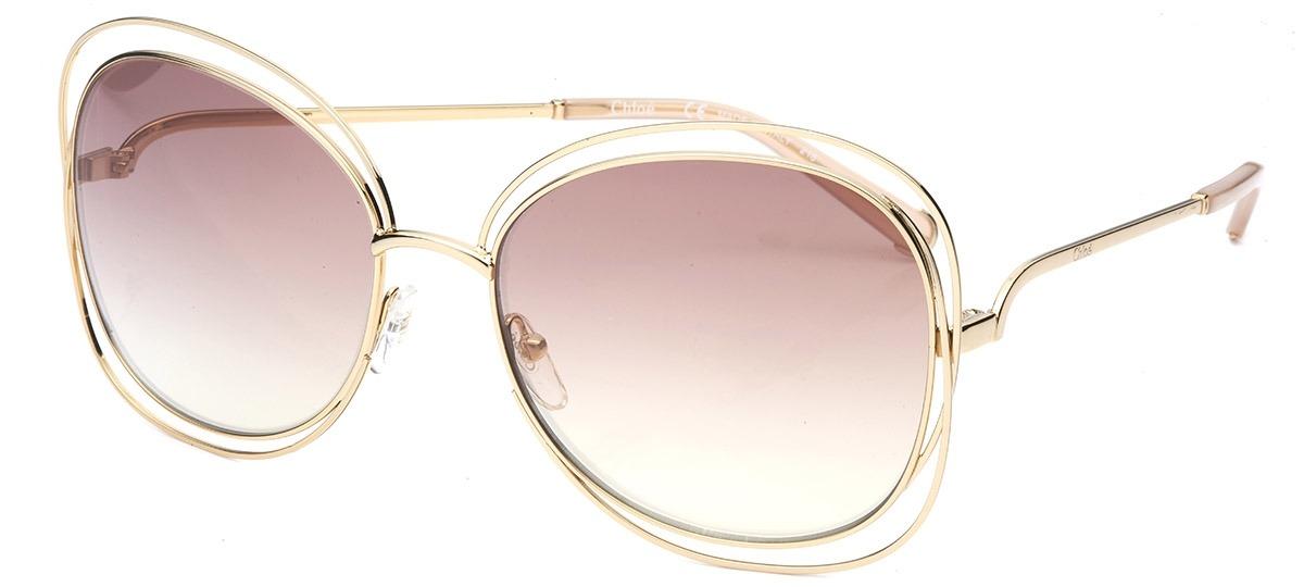 39913bd44015b Óculos de Sol Chloé Carlina 119S 724   Ótica Mori