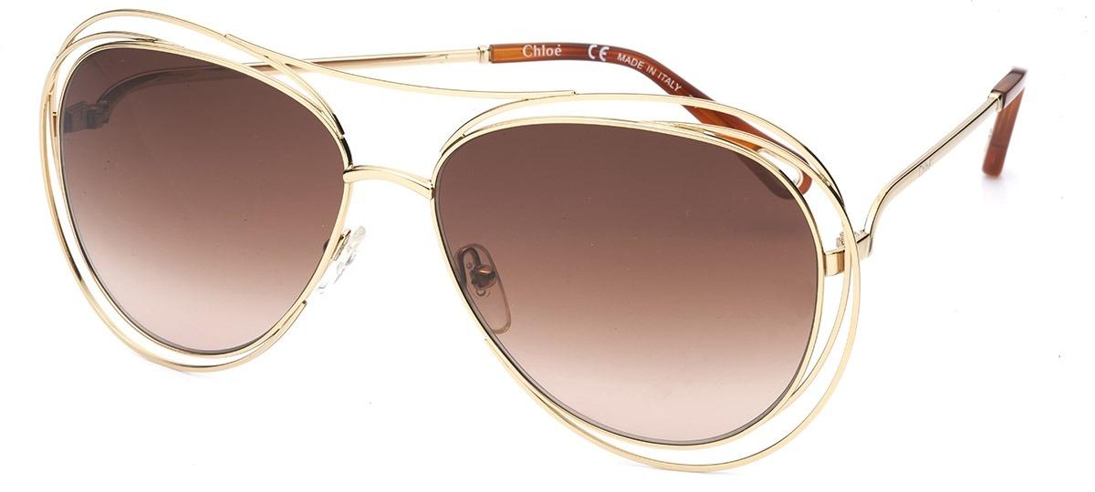 0885445978dd9 Óculos de Sol Chloé Carlina 134S 791   Ótica Mori