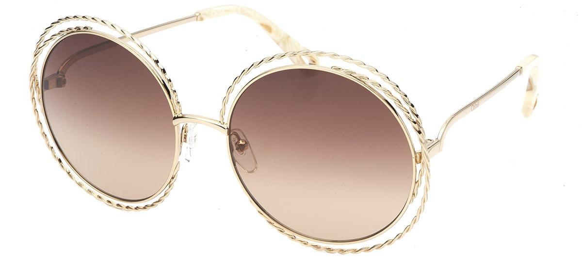 0de0576c12001 Óculos de Sol Chloé Carlina Twist 114ST 743   Ótica Mori