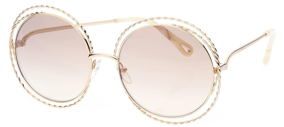 09d0e60bdbae2 Óculos de Sol Chloé Carlina Twist 114ST 810   Ótica Mori