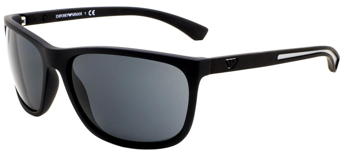 ef158786c5159 preto   cinza preto   cinza. Óculos de Sol Emporio Armani ...