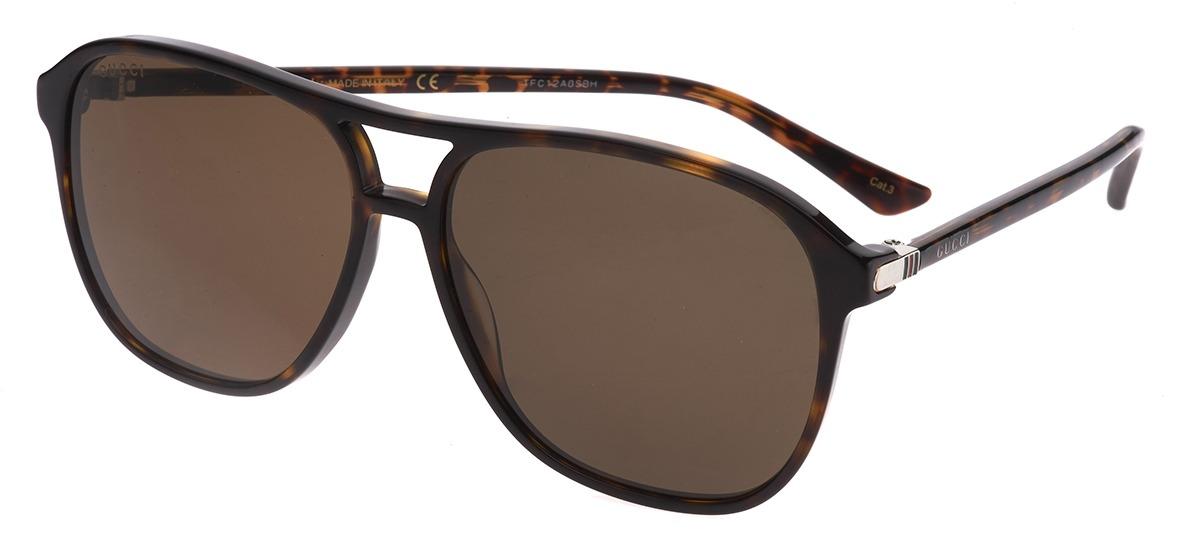 8253eaccc82b3 marrom marrom · Óculos de Sol Gucci 0016S ...