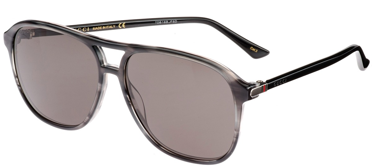 cinza   preto cinza   preto. Óculos de Sol Gucci ... 61999b4aee