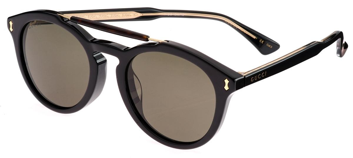 0f231259856 Óculos de Sol Gucci 0124SA 001 Ótica Mori ... 121987dc3a