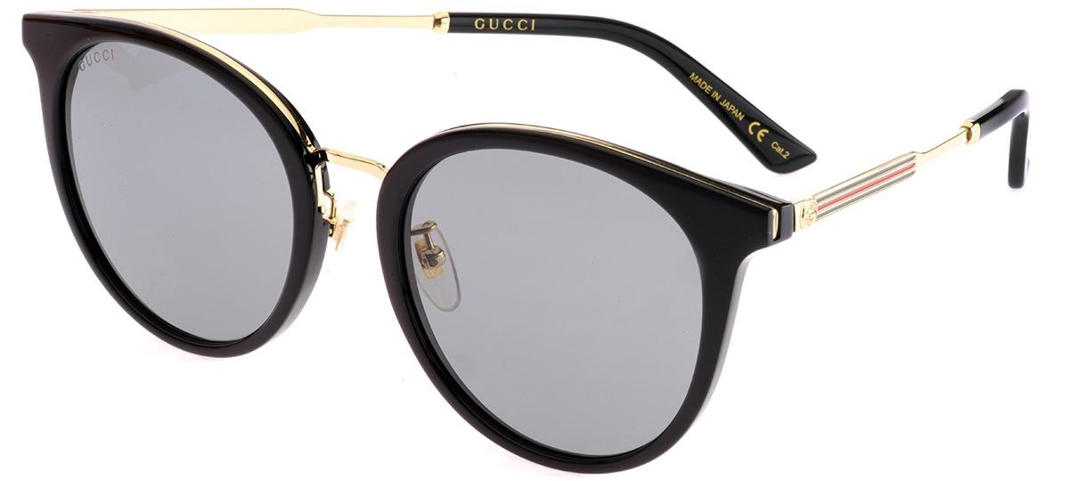 c639e7cd8 Óculos de Sol Gucci 0204SK 001 > Ótica Mori
