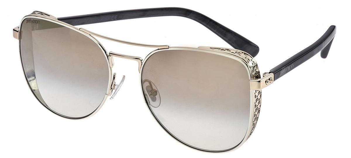 8045b86e228f4 Óculos de Sol Jimmy Choo Sheena s B4EFQ   Ótica Mori