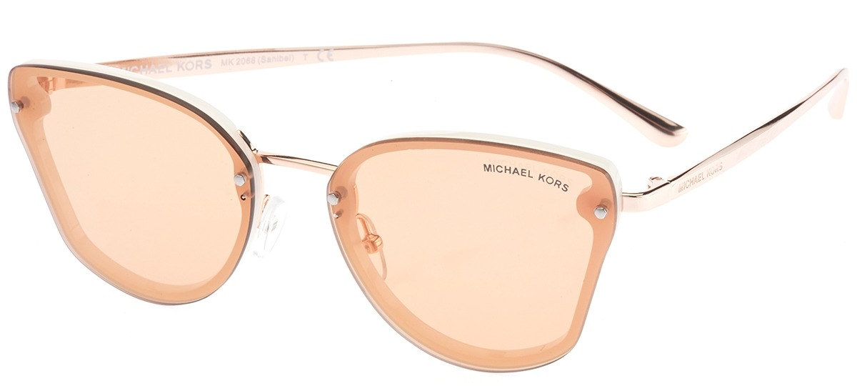 9690110ef8627 branco   rose branco   rose · Óculos de Sol Michael Kors Sanibel ...