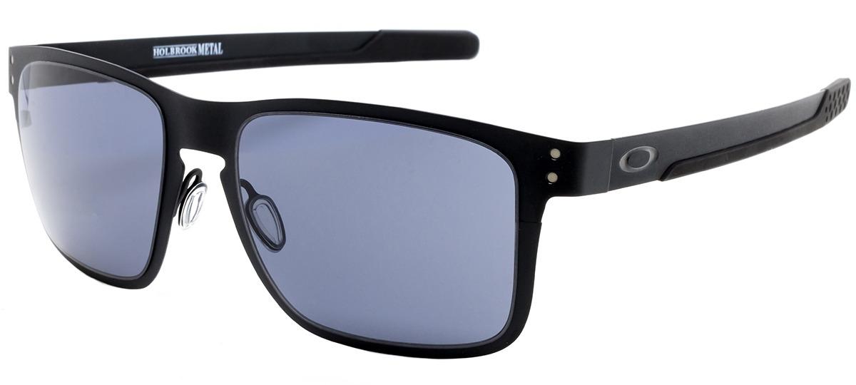 05bcfd277e1 Óculos de Sol Oakley Holbrook Metal 4123-01   Ótica Mori