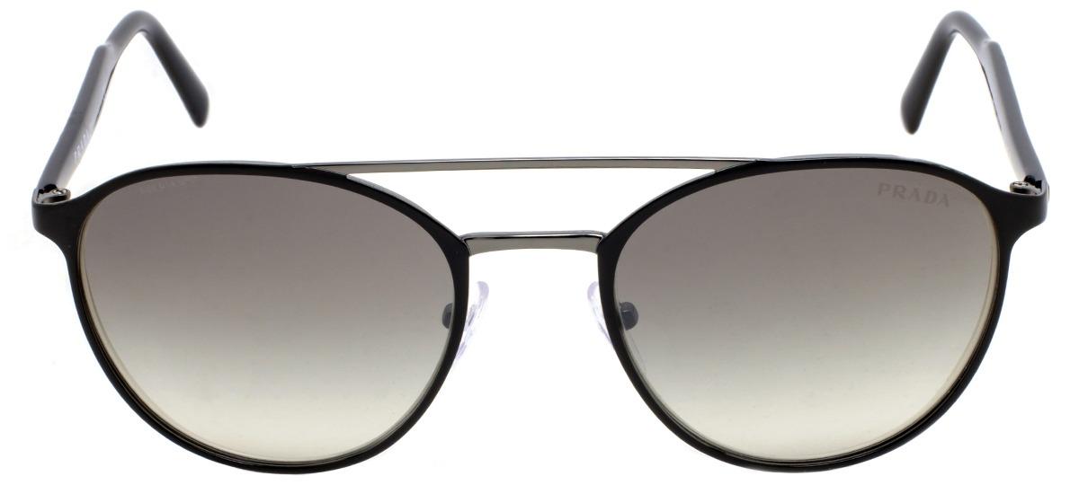 Óculos de Sol Prada Lettering Logo 62TS 1AB-4S1   Ótica Mori 96cefca385