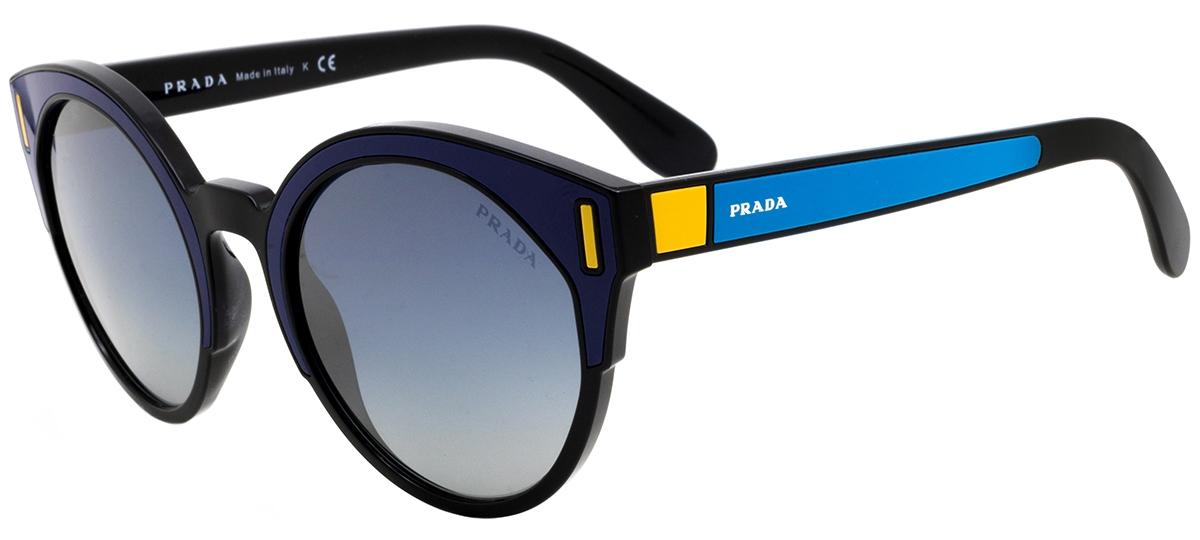 azul / preto / amarelo