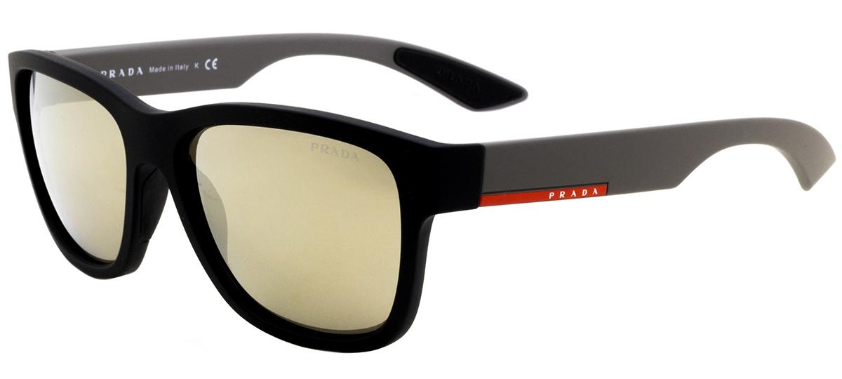 preto   cinza preto   cinza. preto preto. Óculos de Sol Prada Linea Rossa  ... a851b45ddb